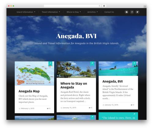 Garfunkel best WordPress theme - anegada-info.com