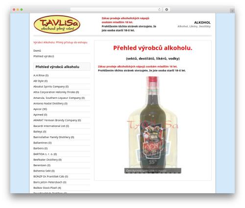 MH Corporate basic free WordPress theme - alkohol.tavlisa.cz