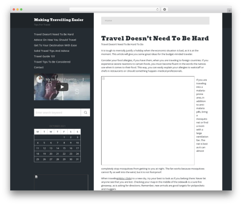 Phat template WordPress free - apa1.org