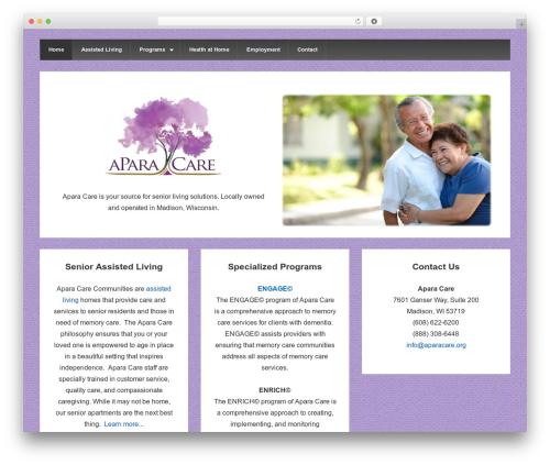 Responsive WordPress theme free download - aparacare.org