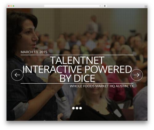 Rocketick WordPress theme - austin2015.talentnetlive.com
