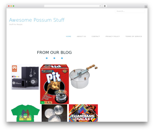 Free WordPress Amazon Product in a Post Plugin plugin - awesomepossumstuff.com