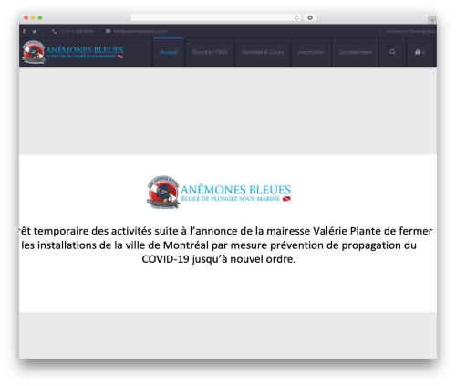Best WordPress template Salamat - anemonesbleues.com