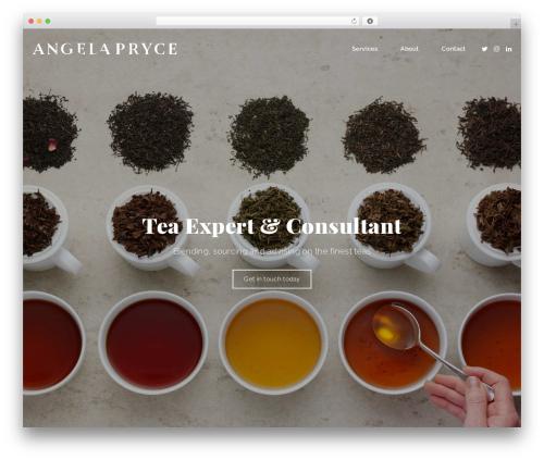 Best WordPress theme cookie - angelapryce.com
