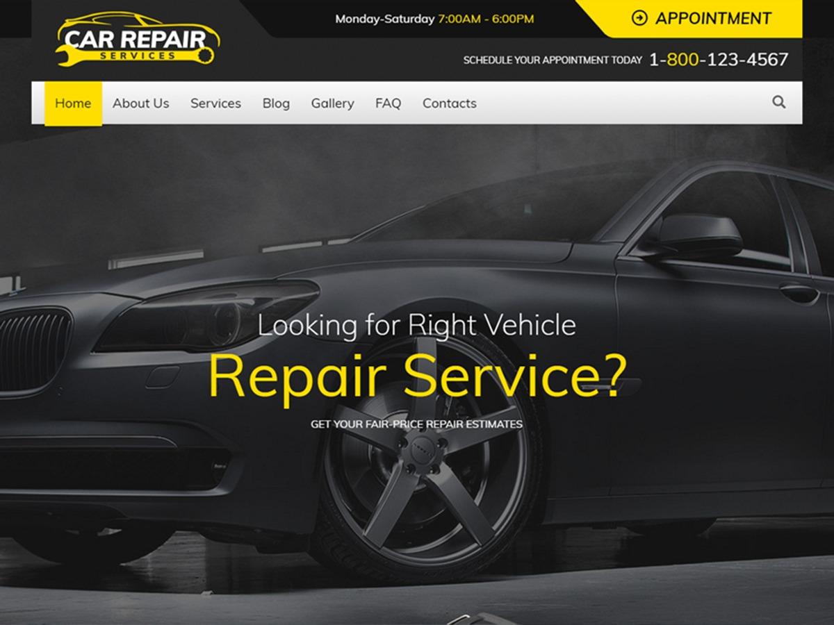 vehicle repair services