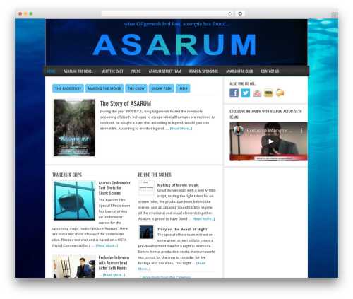 Genesis WordPress video theme - asarummovie.com