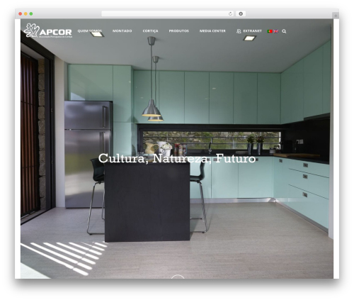 Jupiter WP theme - apcor.pt
