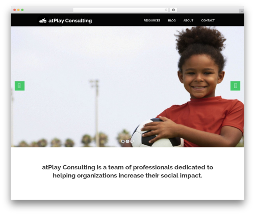 Prototype premium WordPress theme - atplayconsulting.ca