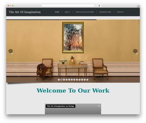 Skadi - Creative Multi-Purpose WordPress Theme theme WordPress - artimaginationbysledge.com