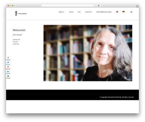 Theme WordPress The REX - atwood.ch