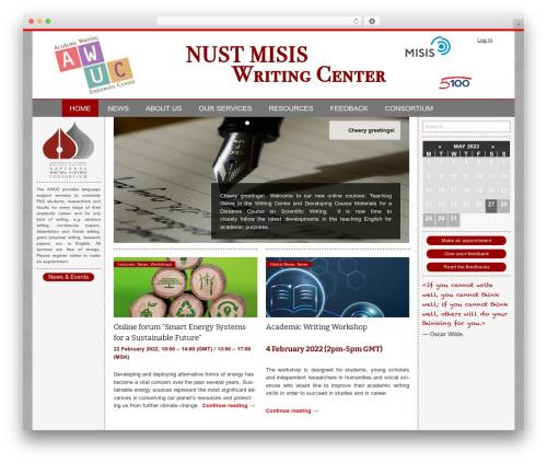 Twenty Thirteen free WordPress theme - awuc.misis.ru