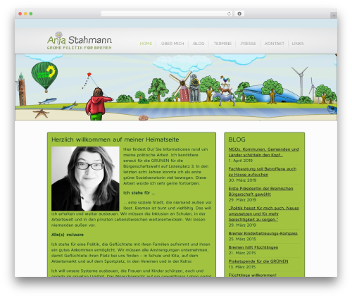 WordPress theme Inspire - anja.stahmann.de