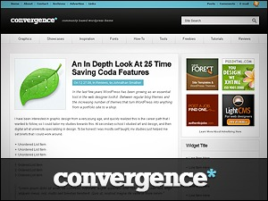 Convergence WP template