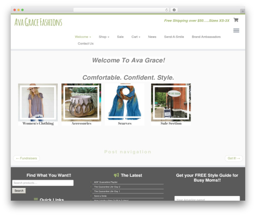 Free WordPress Discount Rules for WooCommerce plugin - avagracefashions.com