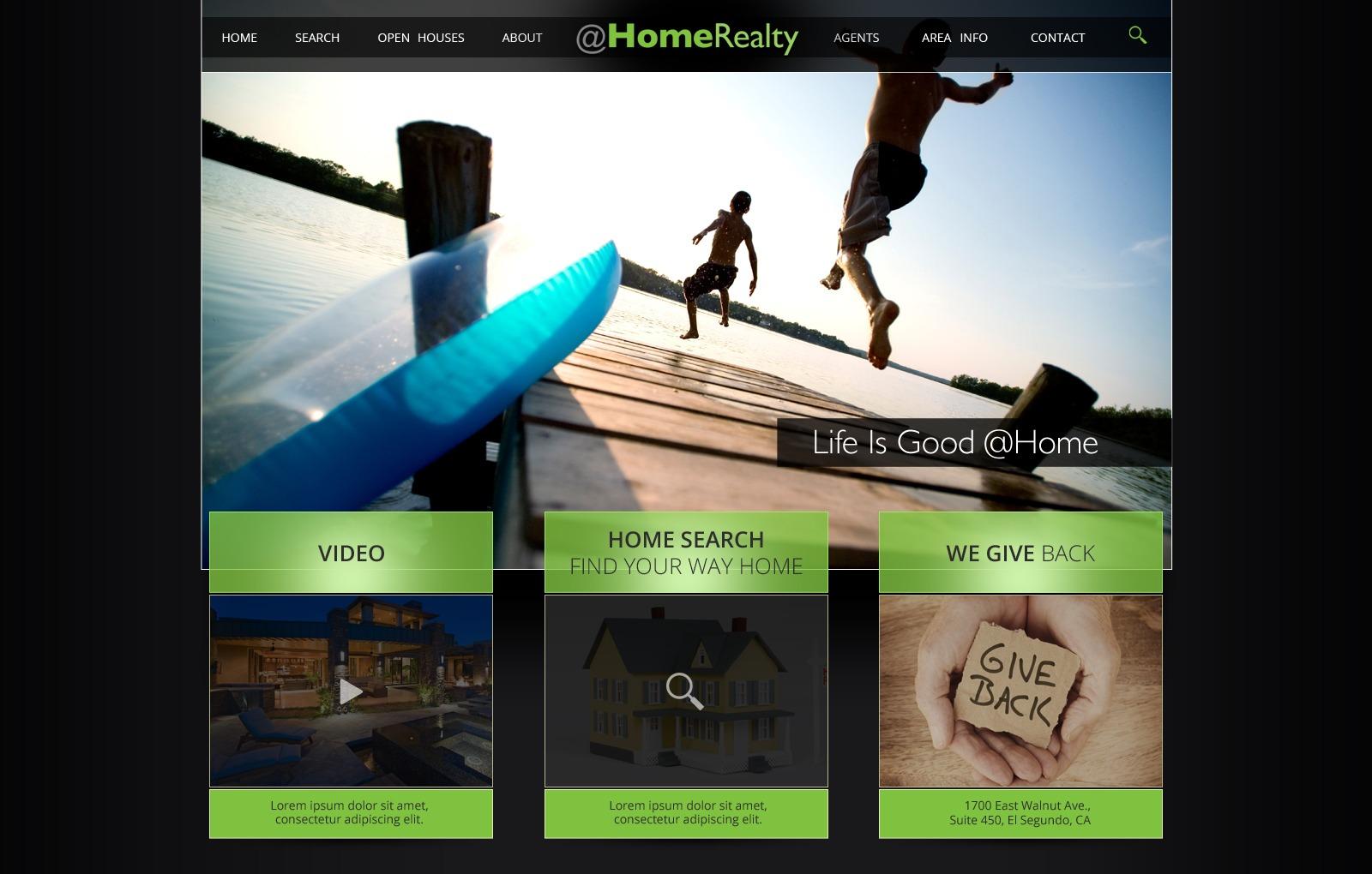 @HomeRealty - homewestmichigan.com best WordPress theme