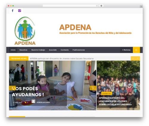 Magazine Prime WP template - apdena.org