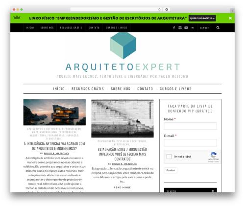 SimpleMag WP theme - arquitetoexpert.com