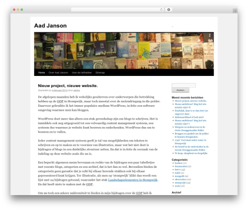 Free WordPress googleCards plugin - aadjanson.nl