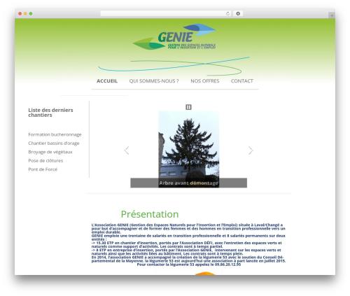 Twenty Twelve WordPress page template - associationgenie.fr
