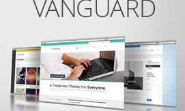 Vanguard (shared on themelock.com) premium WordPress theme