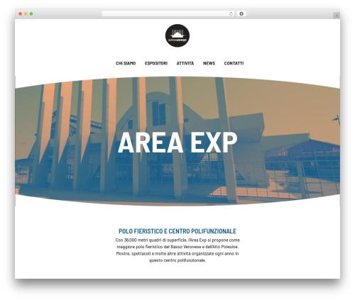 WordPress theme Bridge - areaexp.it