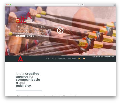 Free WordPress Polylang plugin - a-alta.com