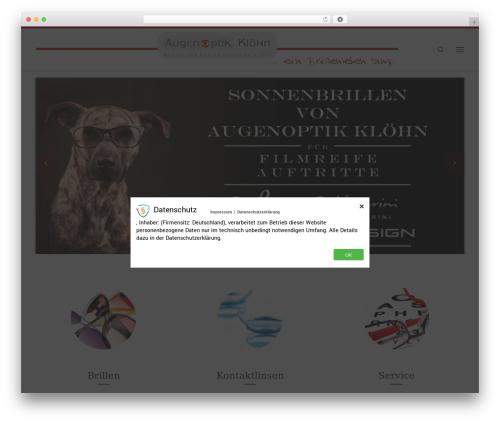 Customizr free WP theme - augenoptik-kloehn.de