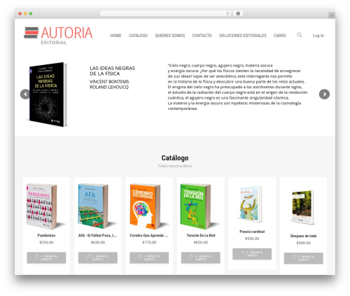 Livre best WordPress theme - autoria.com.ar