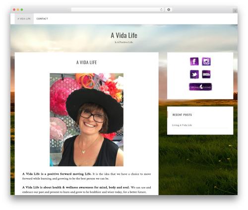 Sanremo WordPress theme - avidalife.com