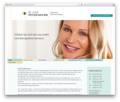 Template WordPress Responsive Pro - augenarzt-haydn.de