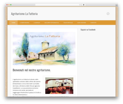 Free WordPress Fluid Responsive Slideshow plugin - agriturismolafattoria.it