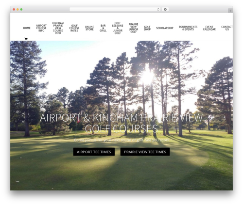 Free WordPress TablePress plugin - airportgolfclub.com