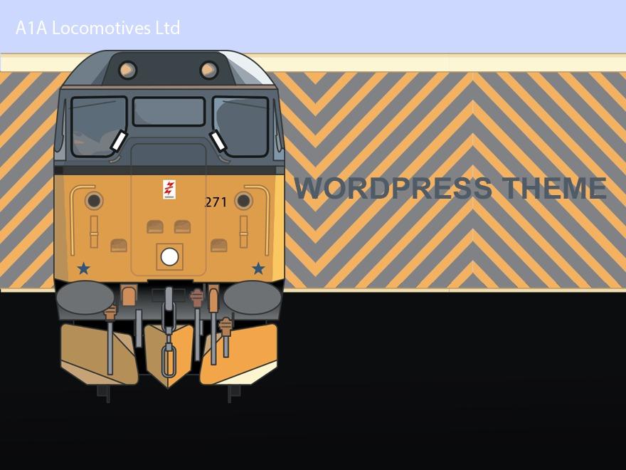A1A Locomotives Ltd NEW WordPress ecommerce theme