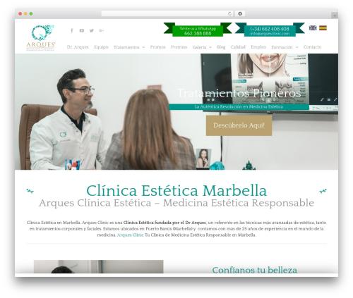 Avada Child WordPress template - arquesclinic.com