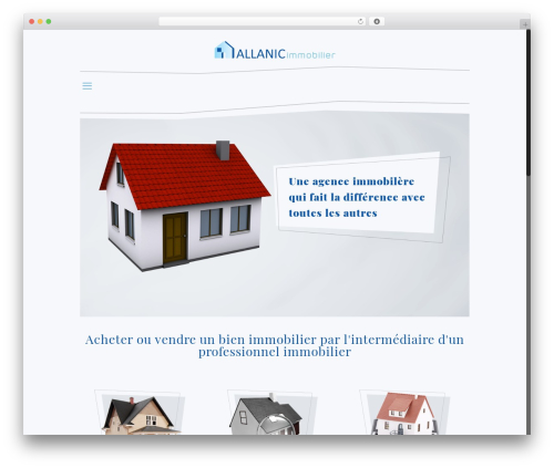 Betheme best WordPress template - allanic-immobilier.fr
