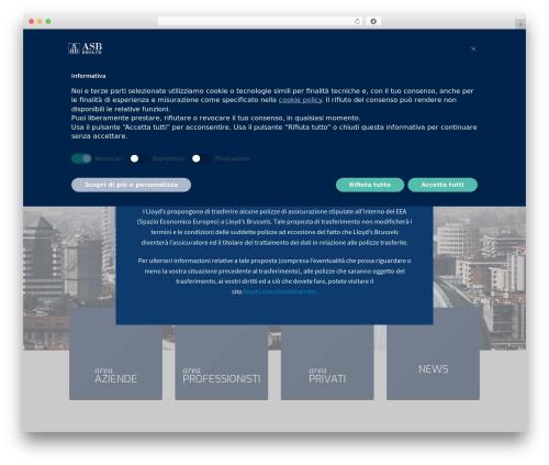 JointsWP (CSS) WordPress template - asbb.it