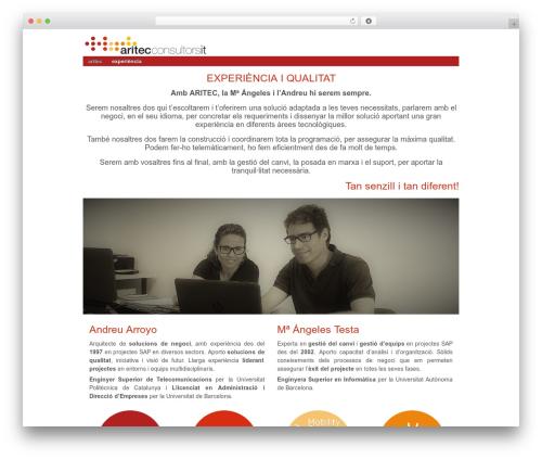 Responsive best WordPress theme - aritecsl.com