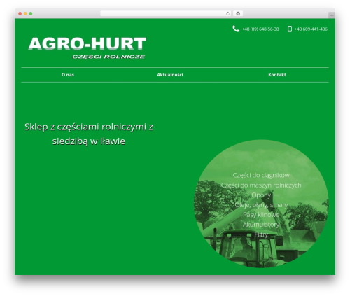 SmartShop best WooCommerce theme - agro-hurt.eu
