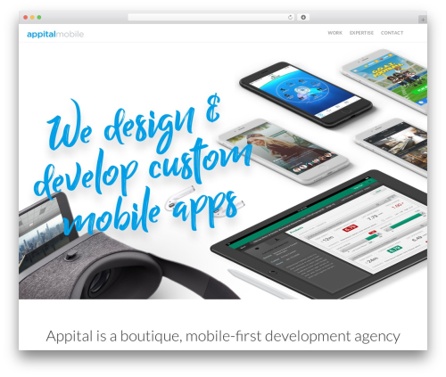 Stack WordPress template - appital.com