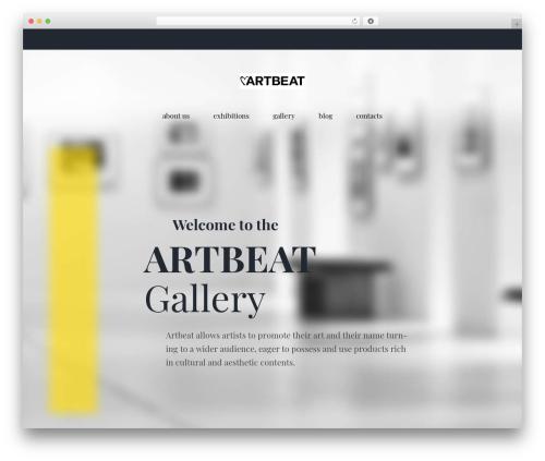 WordPress gallery plugin - artbeatitaly.it