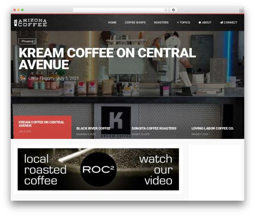 WordPress theme LiteMag by Bluthemes - arizonacoffee.com
