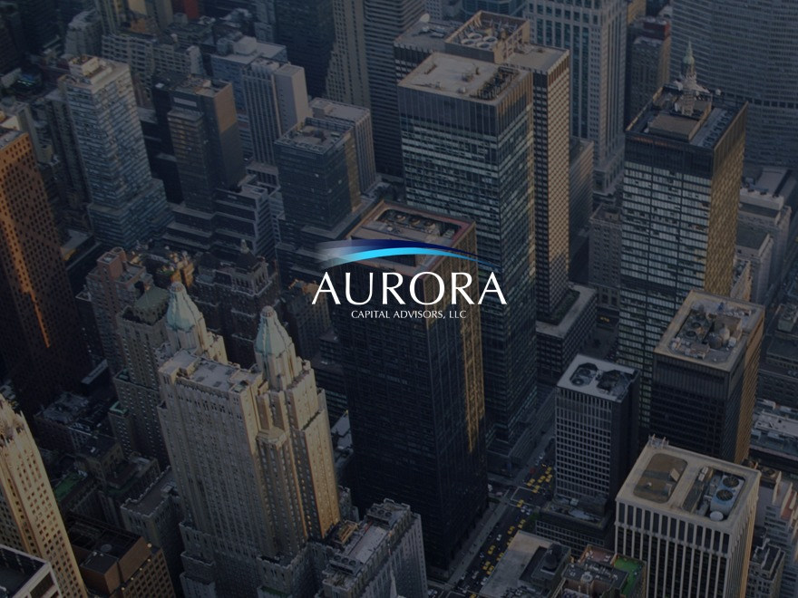 WordPress website template Aurora Capital Advisors by Mr  Smith