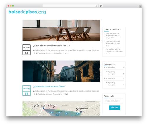 WordPress website template LMS - ayuda.bolsadepisos.org