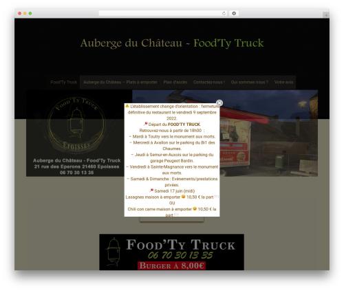 Free WordPress Simple Popup Manager plugin - aubergeduchateau-restaurant.com