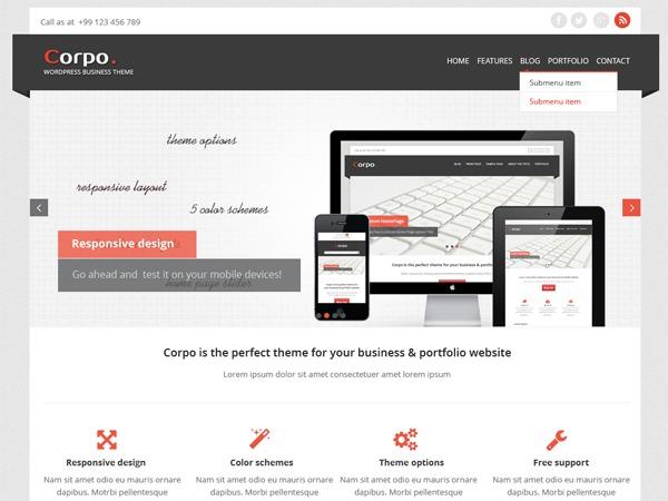 Aussi Yatching company WordPress theme