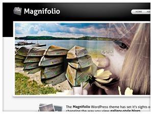 Magnifolio wallpapers WordPress theme
