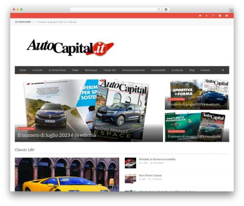 NEUE WordPress theme - autocapital.it