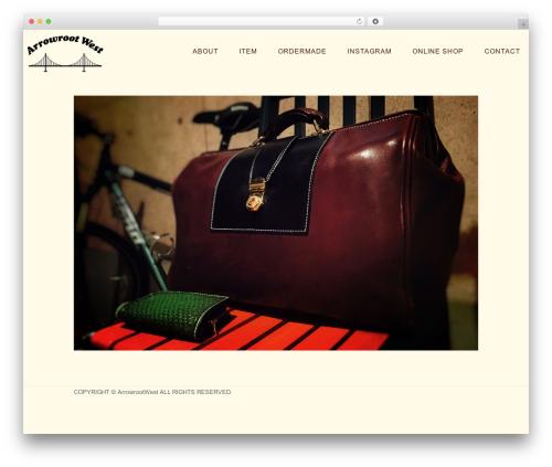 Shibui best WordPress template - arrowroot-west.com
