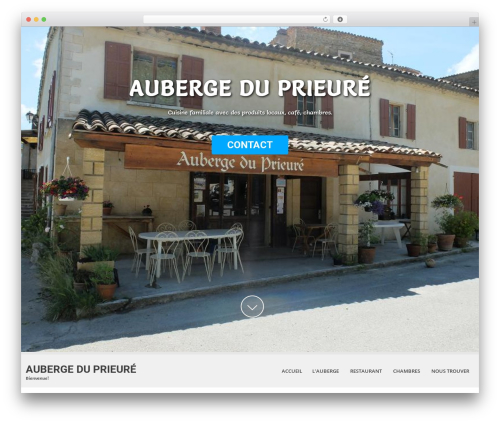 SKT White WordPress theme - auberge-prieure.com/?page_id=50&lang=fr