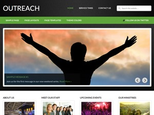 Template WordPress AUC Outreach Child Theme